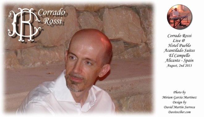 Corrado Rossi Live @ Hotel Pueblo Acantalido Suites