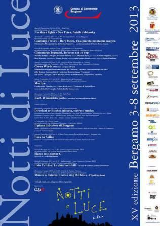 Cartel Oficial Notti di Luce