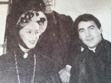 "Valentín Paredes con Pepa Flores en ""Proceso a Maria Pineda"""