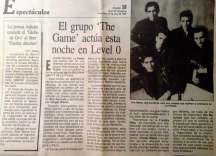 The Game en Level 0 Prensa