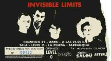 Invisible Limits en Level 0 Entrada 29 de abril 1990