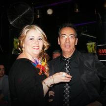 """Marta Carrera y Juhan Dresán en la gala de los premios """"Tacón de oro"""""""