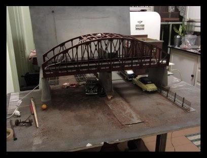 Under the Bridge Photo Shoot Setup