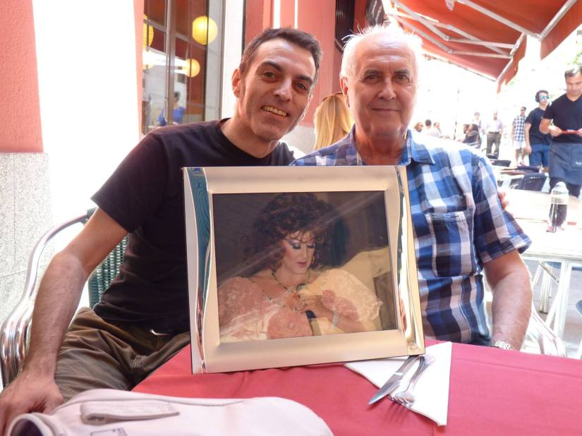 Madrid - En la imagen Angy Kristel y un servidor © Domingo, 20 de julio de 2014 – Foto realizada por Miriam García
