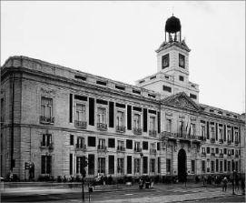 Edificio donde se ubicaban los calabozos Puerta del Sol