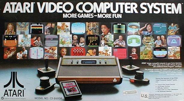 Caja Consola Atari 2600