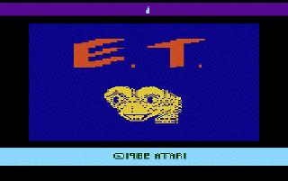 E.T. The Extra-terrestial 1982 - ATARI 2600