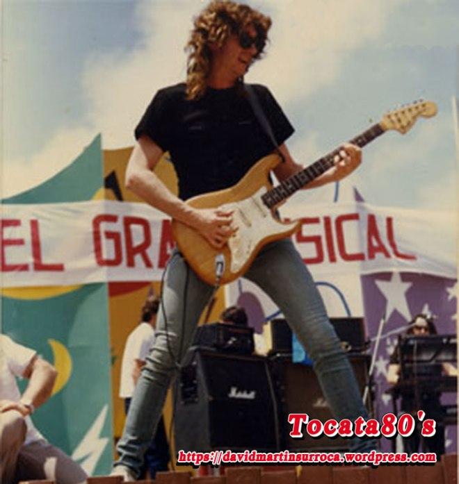 Rosendo en Melilla 1986