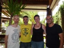De izquierda a derecha: Corrado Rossi, David Martín Surroca, Miriam García y Jaime Helios