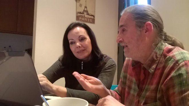 Carmen Serret e Ignasi P. Ferré.