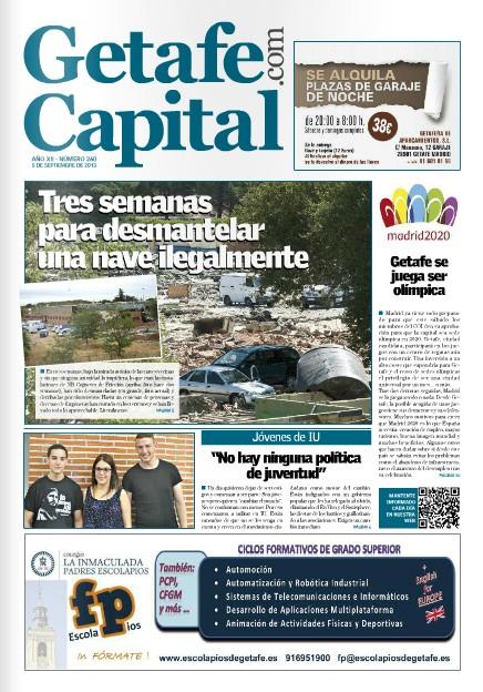 Periódico Getafe Capital Nº260 Septiembre 2013 David