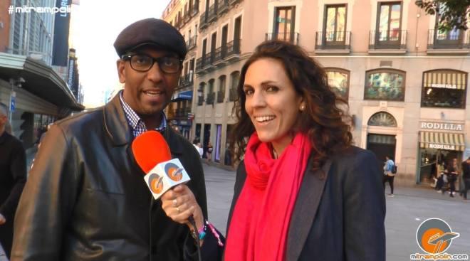 Ray Hungría y Bárbara Caffarel