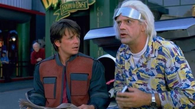 Marty McFly y Doc Emmett Brown