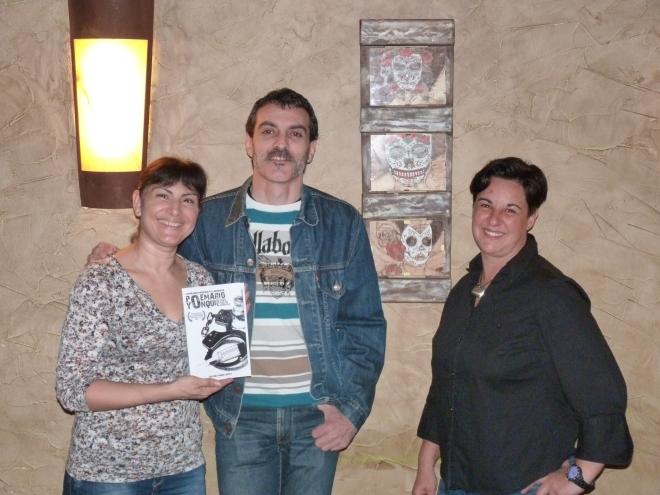 Carmen del Restaurante N9u de Nou, David Martín Surroca y Ruth TinocoClica para ampliar