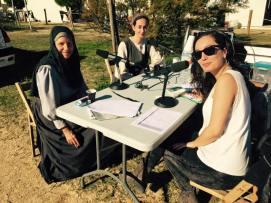 Pilar Ballester Juvanteny y Rosalina Carrera Amoedo entrevistadas por Radio Arenys