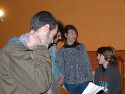David Martín Surroca, Joaquín Faúndez Hormazábal, Maribel Venteo y Miquel