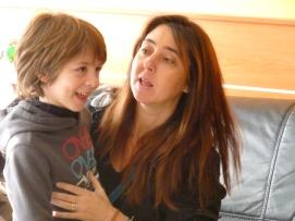 Miquel y su madre Marta