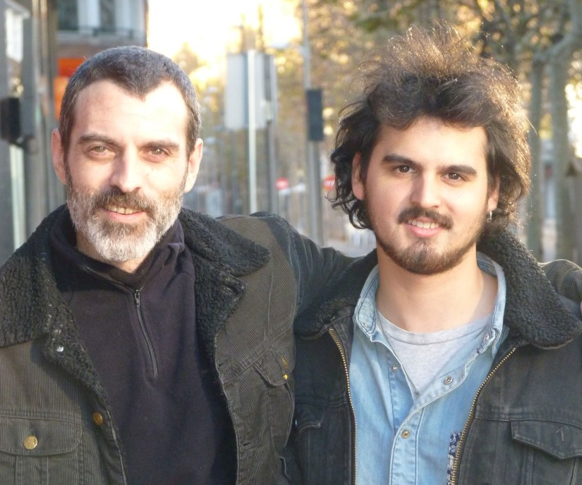 David Martín Surroca y Joaquín Faúndez Hormazábal