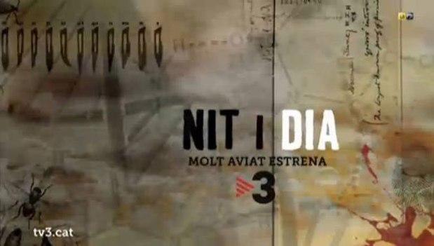 """Mi participación en el rodaje de la serie """"Nit i dia"""" de Lluís Arcarazo y JordiGalceran"""