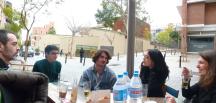 Con Edoardo Alejandro González González , Pascual Sola, Beatriz Carvajal y Marta Fuentes Ferrer