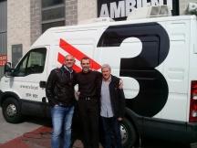 Con Juan y Vicens