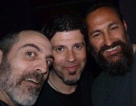 Con Carlos y Jordi