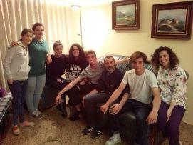 De izquierda a derecha: Ingrid Ayala, Alba Trench, Laura Fernández, Judit Rayo, Nil Santané, David Martín Surroca, Albert Bufill y Esther MorenoHaz clic para ampliar