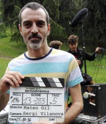 "David Martín Surroca en ""Las leyes de la Termodinámica"" de Mateo Gil. FOTO DE FRANCESC SUCH GOMAR"