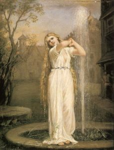 Ondina de John William Waterhouse (1849–1917)