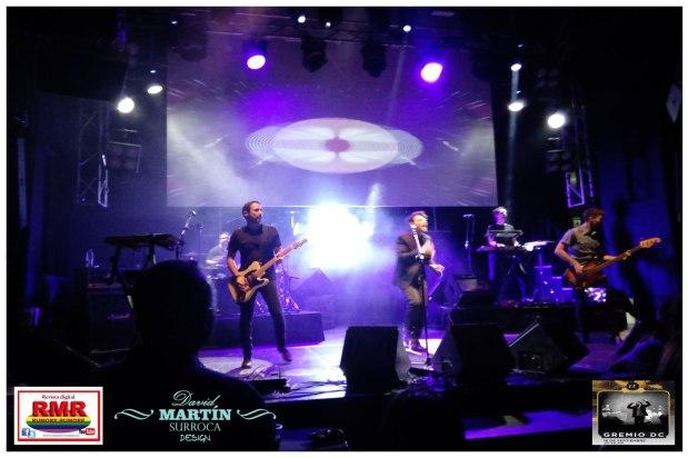 "Concierto de Gremio DC y su nuevo single ""Parodia"" en la sala madrileña JoyEslava"
