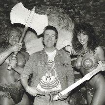 De izquierda a derecha: Michael Van Wyk, Steve Brown y Maria Whittaker